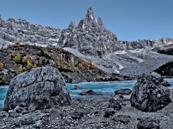 Lake Sorapiss Dolimites Italy GodsFinger