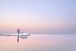 Tranquility at dawn (Corfu, Pastel shades)
