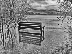 Flooded. Lake District